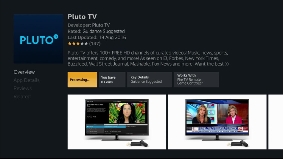 How-To] - Install Pluto TV ( Android and Browser