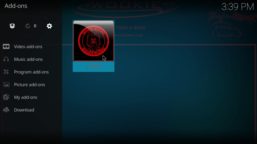 wookie wizard program kodi
