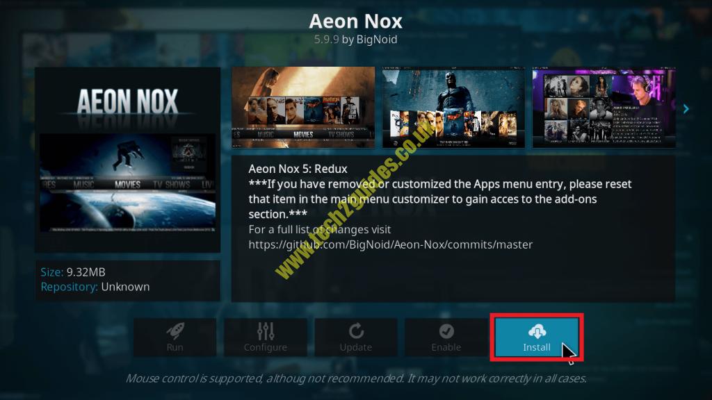 How-To] - Install Aeon Nox Skin kodi 17 Krypton