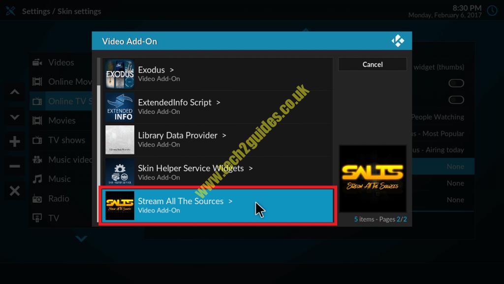 How-To ] - Customize Kodi 17 Krypton - tech2guides co uk