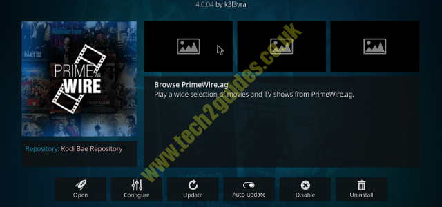 Install 1Channel/primewire kodi addon - tech2guides.co.uk